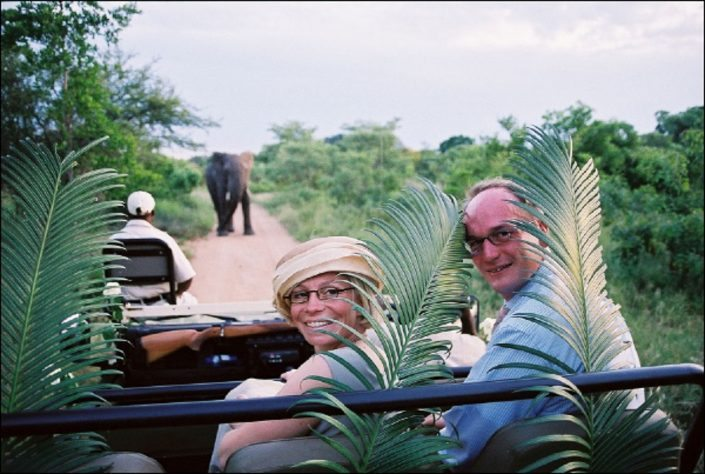 Intussen op safari..... Foto's safari bruiloft