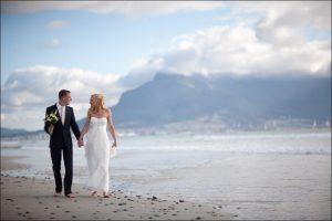 Fotogalerijen: trouwen in Kaapstad op het strand