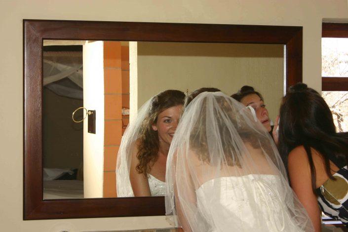 In 2007: onze eigen droombruiloft, oftewel de beste dag van ons leven