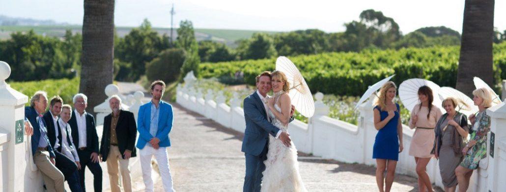 Foto's wijnvelden bruiloft