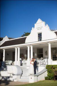 Een absoluut geweldige locatie om te trouwen in de wijnvelden