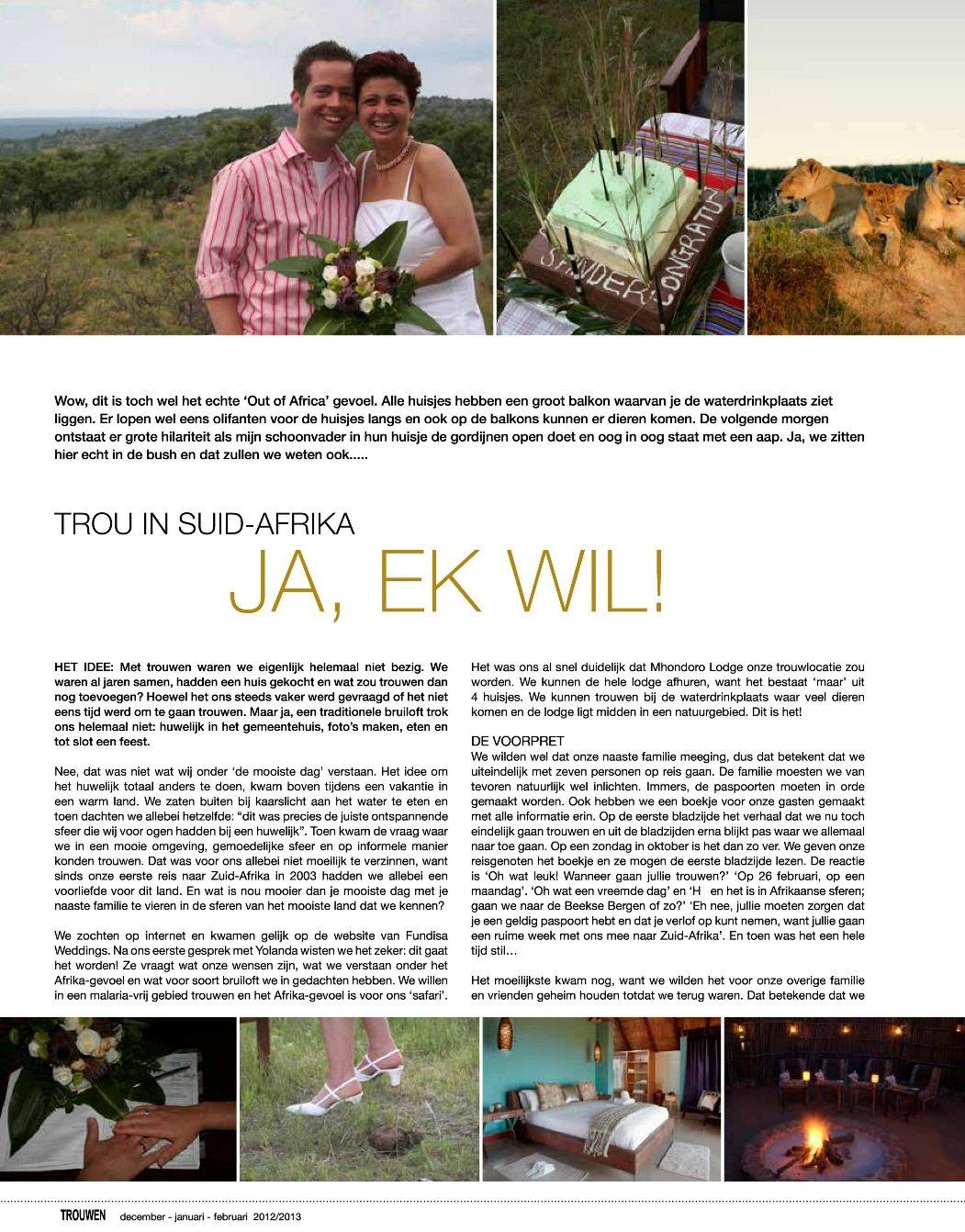 Sarari bruiloften in de media Vicky en Sander