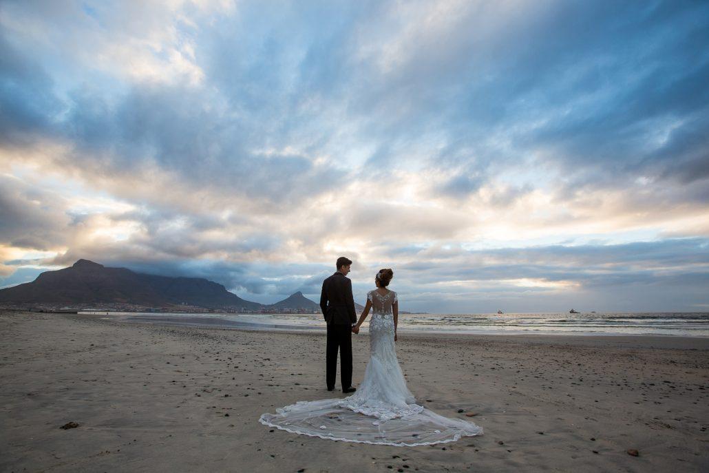 foto's kaapstad bruiloft