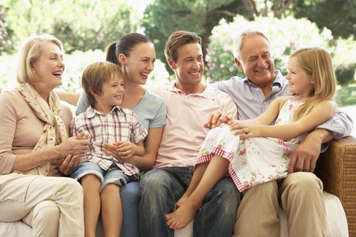 Trouwen samen met jullie kinderen en kleinkinderen