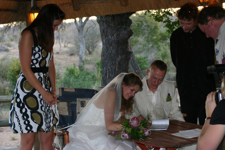 Beperkte gemeenschap van goederen per  trouwen in