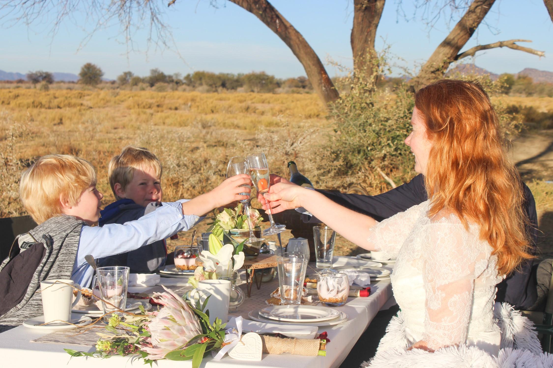 Trouwen in Namibië