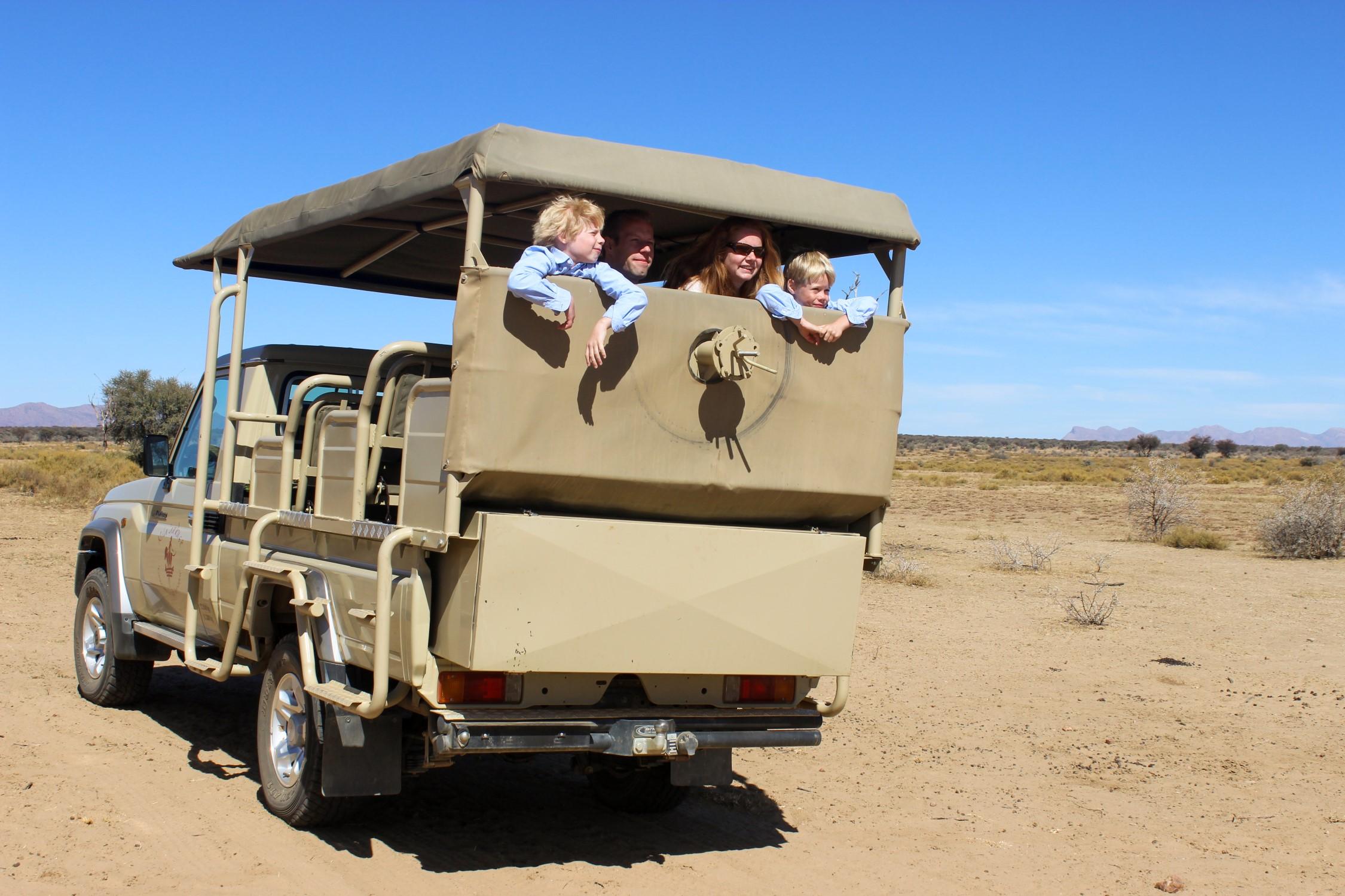 Bruiloft in Namibië