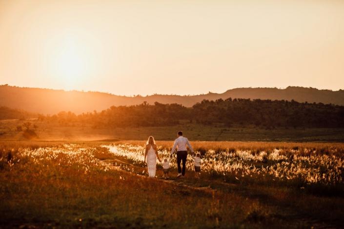 Buitenlandse bruiloft